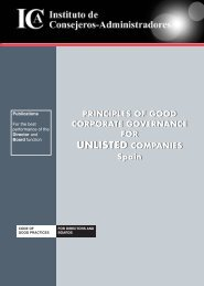 principles of good corporate governance for unlisted companies