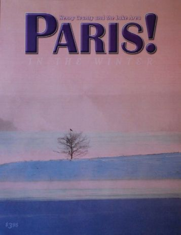 Winter 2011 - Paris! Magazine/MyParisMagazine.com