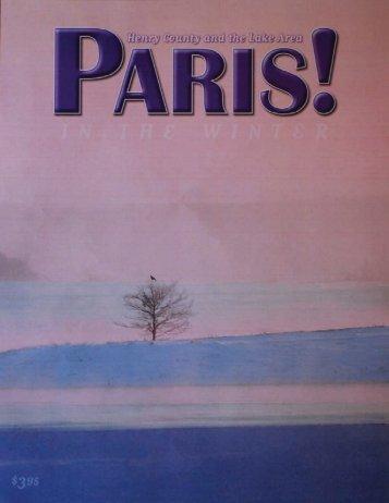 Winter 2011 - Paris! Magazine/MyParisMagazine.com