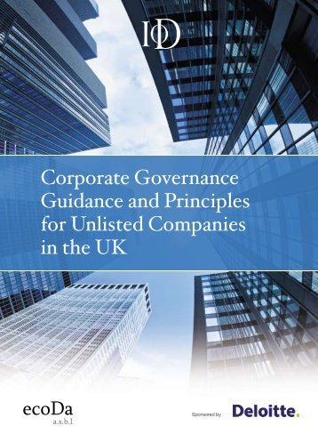 Institute of Directors - European Corporate Governance Institute
