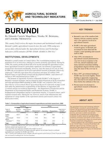 Download PDF - ASTI - cgiar