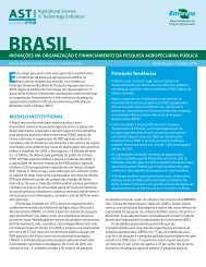 BRASIL - International Food Policy Research Institute