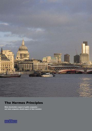 The Hermes Principles - European Corporate Governance Institute