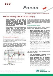 Apériodique – n°10/12 – 27 avril 2012 - economic research of Credit ...