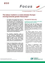 n°10/12 – 27 avril 2012 - economic research of Credit Agricole