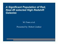 A Significant Population of Red, Near-IR  selected High Redshift ...