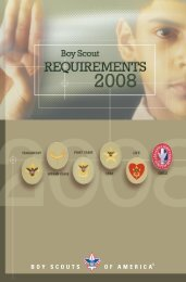 2008 Rank Requirements Book