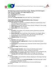 ECD -- brief oral presentations final - AIC 2013 on site - ad chroma