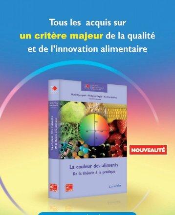 Tous les acquis sur et de l'innovation alimentaire - ad chroma