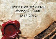 Horse Cavalry March Moscow – Paris Horse Cavalry March Moscow