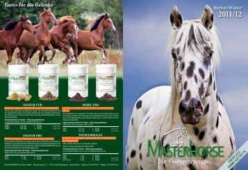 NEU - Masterhorse - Die Pferdefutterexperten