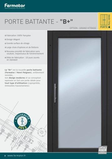 Télécharger la fiche / 920 ko - Fermator France