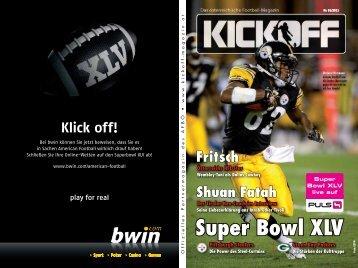 Super Bowl XLV - SMV Sportmedienverlag