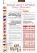 Les pigments - Socli - Page 2