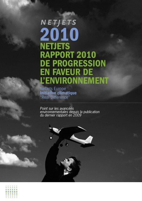 Télécharger le rapport complet - NetJets Europe