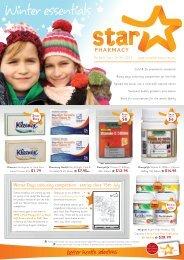 Winter essentials - Star Pharmacy