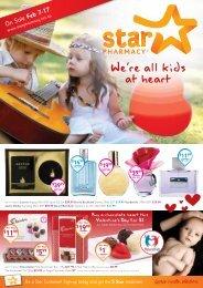 We're all kids at heart - Star Pharmacy