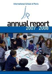 Annual Report 2008-09 - International School of Paris