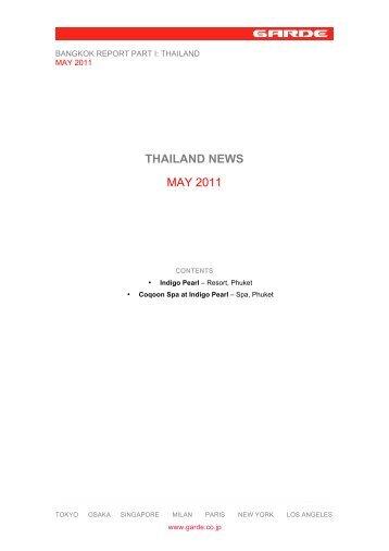 Part I – Thailand Report - Garde