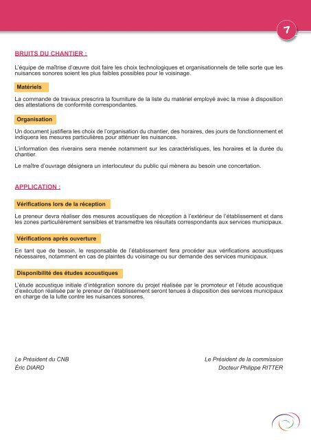 Les guides du CNB - Centre d'information et de documentation sur ...
