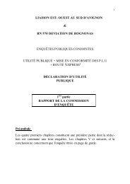 rn 570 deviation de rognonas - Les panneaux autoroutiers français