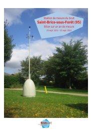 Saint-Brice-sous-Forêt (95) - Bruitparif