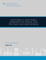 Issue Brief_A Sanctions Approach to