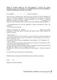 certificat médical - Les services de l'État dans le Val-d'Oise
