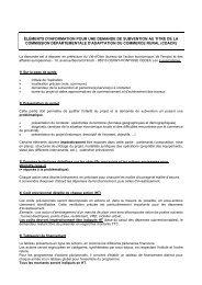 Demande de subvention - Les services de l'État dans le Val-d'Oise