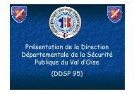 Présentation DDSP 95 pour site DIE - Les services de l'État dans le ...