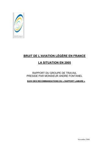 Bruit de l'aviation légère en France - Bruitparif
