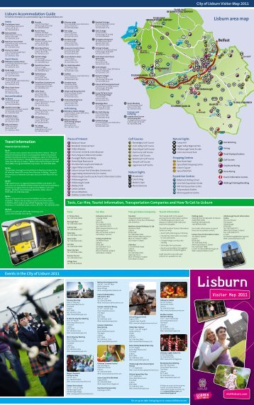 Lisburn area map - Visit Lisburn