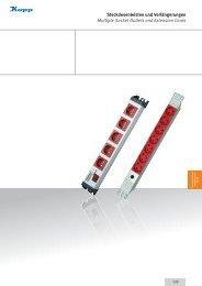 Steckdosenleisten und Verlängerungen Multiple Socket Outlets and ...