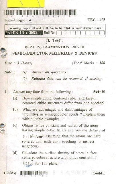 Pdf semiconductor materials