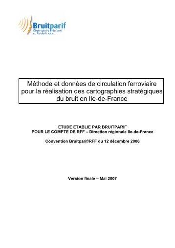03/06/2010 Méthode et données de circulation ferroviaire ... - Bruitparif