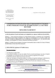 condition d exploitation decret du 260612 - Les services de l'État ...
