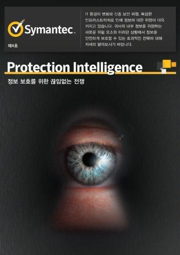 Protection Intelligence Protection Intelligence - Symantec