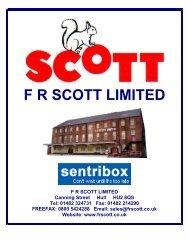 Sentri Site & Van Storage - F R Scott Ltd