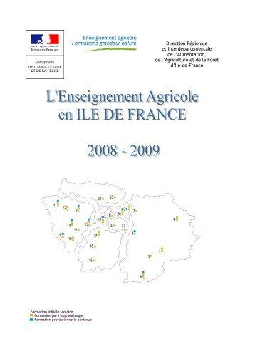 Brochure Formations DRIAAF IDF - DRIAAF Ile-de-France