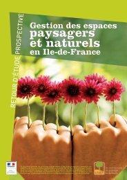 Plaquette Gestion des espaces paysagers et naturels en Ile de France