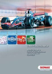 Sonax Produkt Katalog