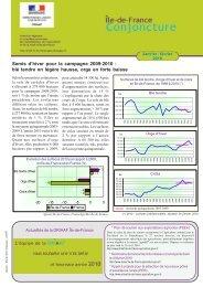 Semis d'hiver pour la campagne 2009-2010 : blé tendre en légère ...