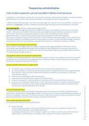 Trasparenza amministrativa - Unione Terre e Fiumi