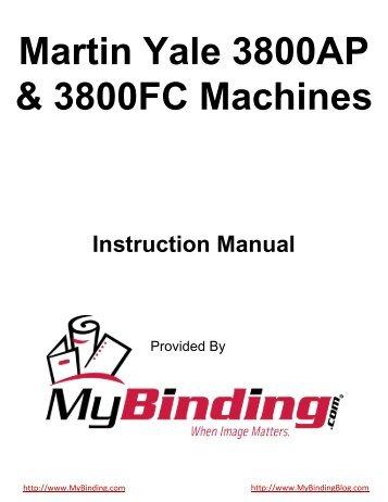 fellowes binding machine instructions