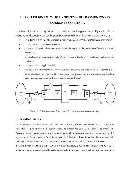 collegamento linea di trasmissione