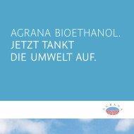 Broschüre Bioethanol - SuperEthanol E85
