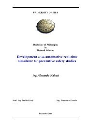Development of an automotive real-time simulator for preventive ...