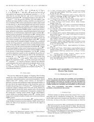 IEEE TRANSACTIONS ON AUTOMATIC CONTROL, VOL. 46, NO. 9 ...