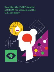 Reaching the Full Potential of STEM for Women and the U.S. Economy