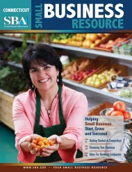 CONNECTICUT SMALL BUSINESS RESOURCE